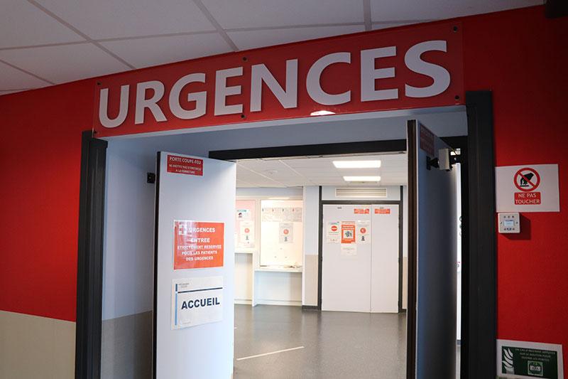 Entrée des urgences